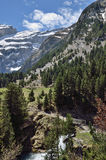 Hiking trail to the cirque of Gavarnie Stock Photography