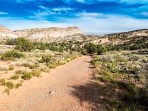 Hiking Trail to Hells Kitchen Stock Photo