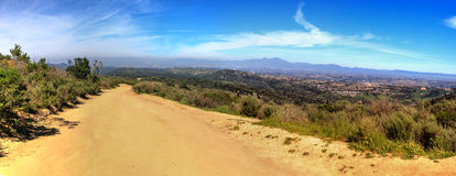 Hiking trail at the Top of the World in Laguna Beach Stock Photography
