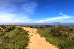 Hiking trail at the Top of the World in Laguna Beach Royalty Free Stock Photo