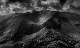 Ridges and peaks of Transylvania royalty free stock images