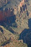 Hiking Trails in the Grand Canyon Royalty Free Stock Photography
