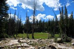 Hiking Utah Royalty Free Stock Images