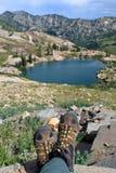 Hiking Utah Royalty Free Stock Photo