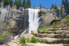 Hiking Vernal Fall Stock Photos