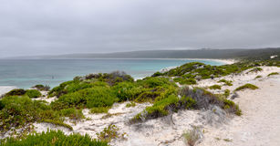 Hiking Views over Hamelin Bay Stock Photo