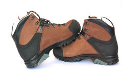 Hiking or walking boots Royalty Free Stock Photography