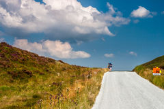 Hiking in Wicklow Mountains, Ireland Stock Photography