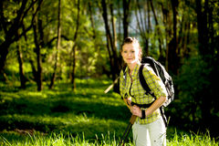 Hiking In The Wild Nature Royalty Free Stock Photo