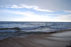 Hikkaduwa beach Stock Photo