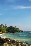 Hikkaduwa plaża, Sri Lanka Zdjęcie Stock