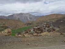 Hikkim spity valley stock photography
