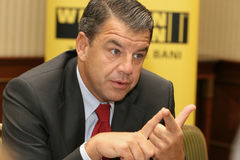Hikmet Ersek. Became President and Chief Executive Officer of The Western Union Company on Sept. 1, 2010 Royalty Free Stock Photo