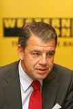 Hikmet Ersek. Became President and Chief Executive Officer of The Western Union Company on Sept. 1, 2010 Stock Images
