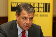 Hikmet Ersek. Became President and Chief Executive Officer of The Western Union Company on Sept. 1, 2010 Stock Photography