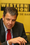 Hikmet Ersek. Became President and Chief Executive Officer of The Western Union Company on Sept. 1, 2010 Stock Photos