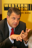 Hikmet Ersek. Became President and Chief Executive Officer of The Western Union Company on Sept. 1, 2010 Stock Image