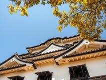 Hikone castle with blue sky, Shiga, Japan 6 Royalty Free Stock Photography