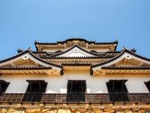 Hikone castle with blue sky, Shiga, Japan 6 Stock Image