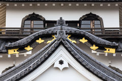 Hikone Castle. Is a castle in the city of Hikone, in Shiga Prefecture, is one of only 12 Japanese castles with the original keep, and one of only four castles Royalty Free Stock Photos