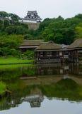 Hikone Castle em Shiga, Japão Fotos de Stock Royalty Free