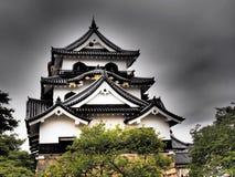 Hikone Castle em Shiga, Japão Foto de Stock