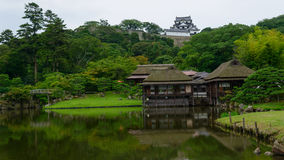 Hikone Castle i Shiga, Japan Royaltyfria Foton