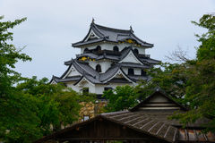 Hikone Castle in Shiga, Japan Lizenzfreies Stockbild