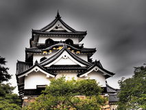 Hikone Castle in Shiga, Japan Stock Foto