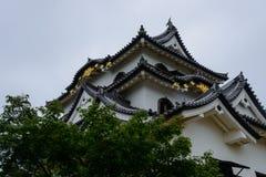 Hikone Castle in Shiga, Japan Royalty Free Stock Photos