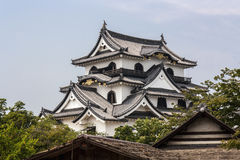 Hikone Castle - västra Japan Royaltyfria Foton