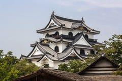 Hikone kasztel - Zachodni Japonia Zdjęcia Royalty Free