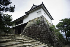 Hikone slott Arkivbild