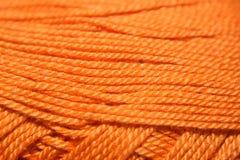 Hilado anaranjado foto de archivo