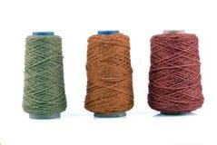 Hilado de lanas Imagenes de archivo