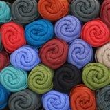 Hilado de lanas Imágenes de archivo libres de regalías