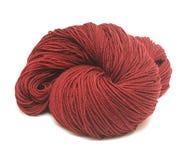 Hilado de lanas de Brown Foto de archivo