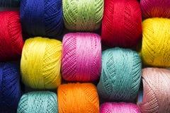 Hilado multicolor foto de archivo libre de regalías