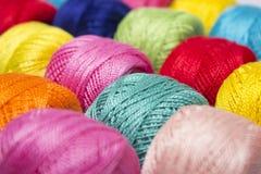 Hilado multicolor imágenes de archivo libres de regalías