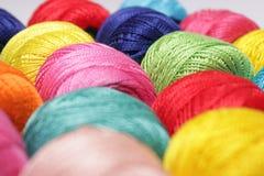 Hilado multicolor fotografía de archivo