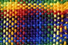 Hilado tejido colorido Fotografía de archivo libre de regalías