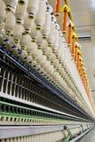Hiladora del algodón imagen de archivo libre de regalías