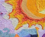 Hilados coloridos fotografía de archivo