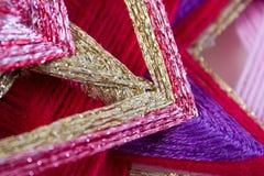 Hilados coloridos Foto de archivo