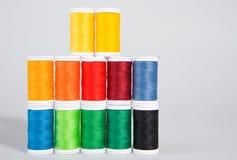 Hilados coloridos Imagen de archivo libre de regalías