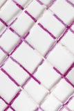 Hilados de lana coloreados Foto de archivo