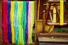 Hilados de seda Fotografía de archivo libre de regalías