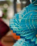 Hilandero decorativo de madera del viento - 1 fotos de archivo libres de regalías