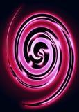 Hilandero metálico rosado Stock de ilustración