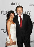 Hilaria Thomas and Alec Baldwin Stock Photos